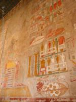 Wall painting at Hatchepsut Temple